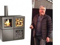 Le poêle à bois selon Starck: un cube ...