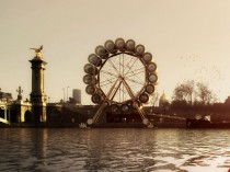 "A Paris, des architectes imaginent un""London Eye"" ..."