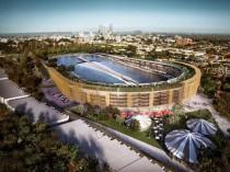Un immense stade de foot transformé en complexe ...