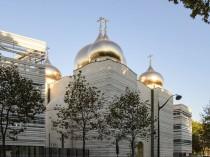 Inauguration de l'église Orthodoxe russe, un ...