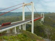 Le pont de Beipanjiang bat des records