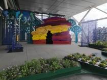 Un jardin poétique et ludique sur le toit du ...