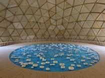 Un dôme géodésique en plein cœur de Lyon