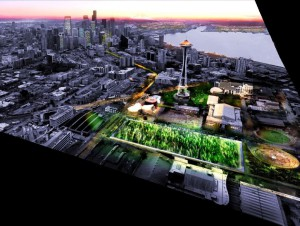 ABF Lab concevra le nouveau parc du Seattle center