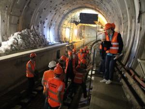 Un troisième tunnel sera construit sous le ...