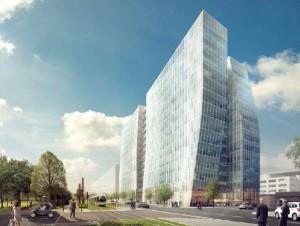 Sky 56, un nouvel immeuble de bureaux à Lyon