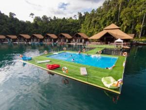 Insolite : une piscine flottante à installer sur ...