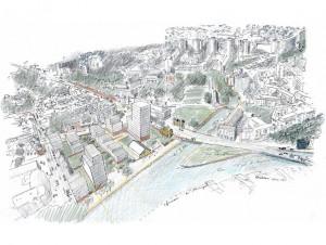 Cinq architectes internationaux pour l'îlot de ...