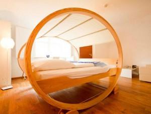 Dormir dans des lits qui ne ressemblent pas à des ...