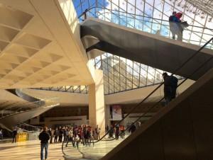 Pyramide du Louvre : les premiers chantiers sont ...
