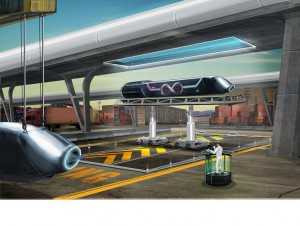 La SNCF mise sur Hyperloop, le transport du futur