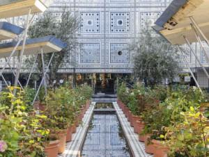 Un jardin oriental éphémère à l'Institut du ...