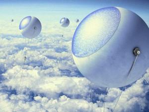 Des ballons à hydrogène pour capter les rayons ...