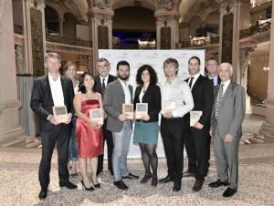 Premiers lauréats du Prix des Innovateurs 2016