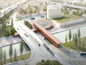 Qui a été désigné pour construire les gares de ...