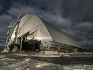 Tchernobyl : la super-arche de confinement ...