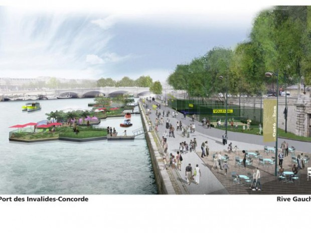 Voies sur berges de Paris : le projet continue ...