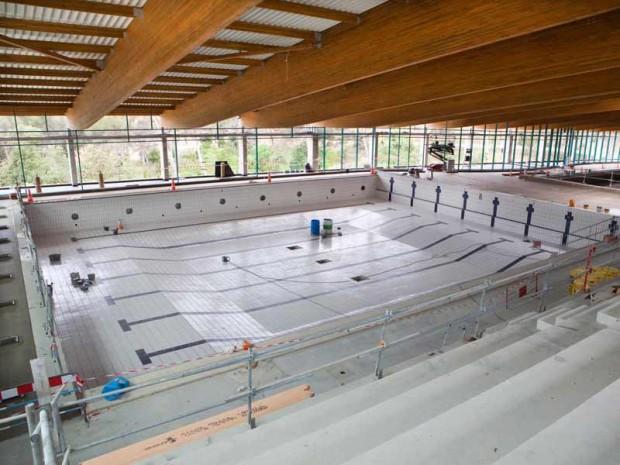 Gradins for Construction piscine loi