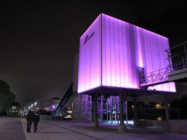 Une usine de béton HQE illumine la Seine ...