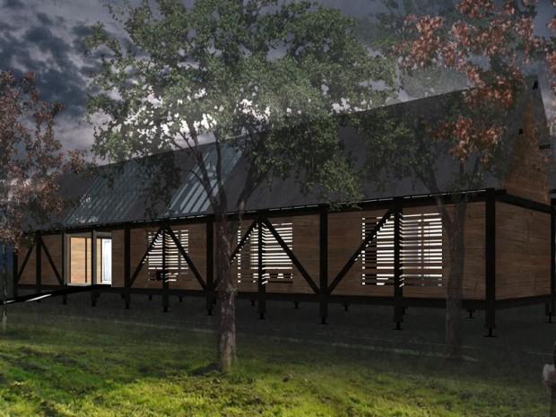 Laurier du projet de la maison individuelle architecture for Architecture contemporaine maison individuelle
