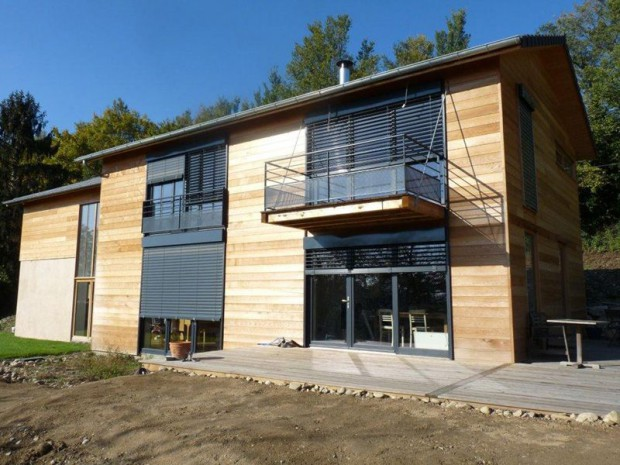 Laurier de la r alisation de la maison bioclimatique eco for Aide construction maison bbc