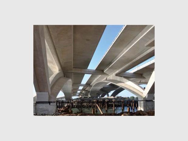 Un nouveau pont se dresse sur les rives marocaines ...
