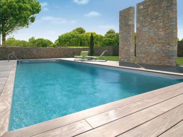 une piscine enterr e en cinq jours diaporama. Black Bedroom Furniture Sets. Home Design Ideas