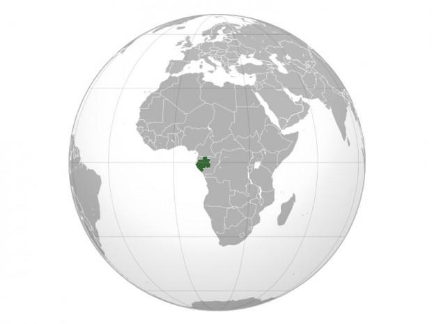 Gabon carte localisation