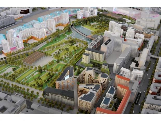 Zac clichy batignolles le projet d voil aux riverains for Projets de maisons