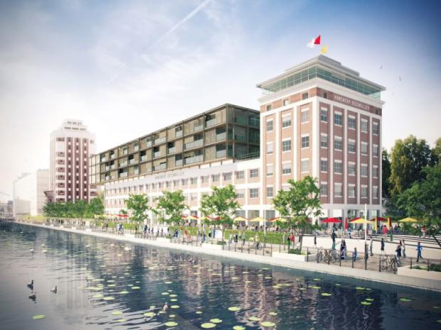 Transformation de l'entrepôt Seegmuller en programme immobilier « Les Dock's », à Strasbourg