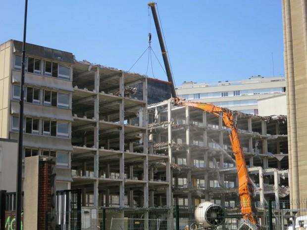 chantier déconstruction