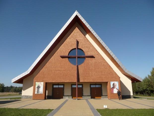 Une église polonaise passive