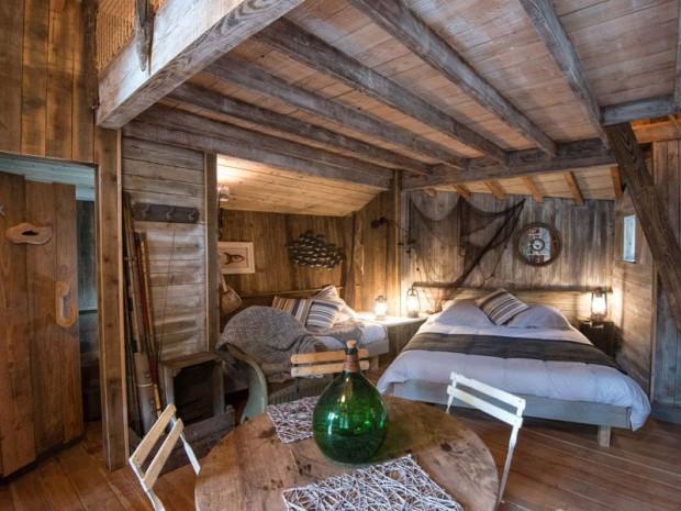 Int rieur cabane du p cheur - Du bois dans ma maison ...