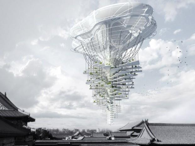 La Chine rêve de cités dans les nuages