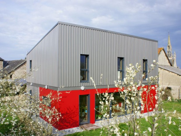 Une maison passive prix optimis for Architecte maison passive