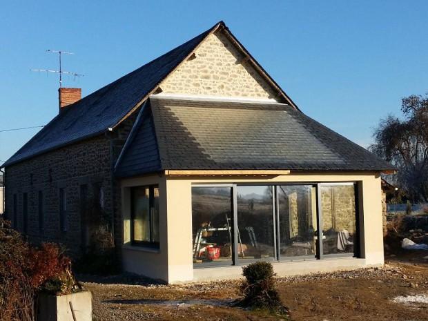 Une maison se chauffe par le sol gr ce au soleil for Chiffrage maison individuelle