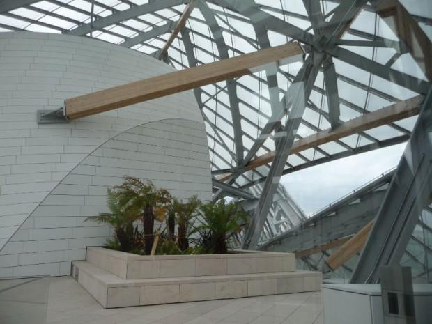 de la Fondation Vuitton jette lancre au bois de Boulogne  batiactu
