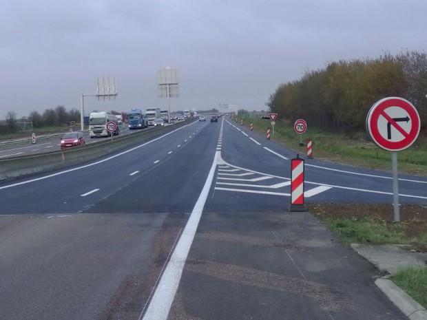 L'accès routier Est de l'aéroport Roissy ouvert