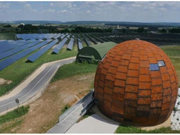 edf inaugure une maison de l 39 nergie solaire photovolta que. Black Bedroom Furniture Sets. Home Design Ideas