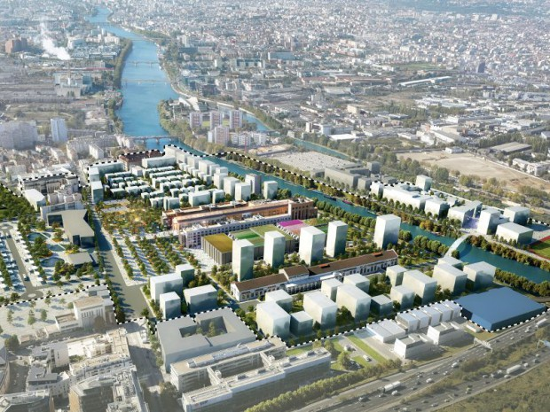 Village Olympique et paralympique sur le site Bords de SEine -Pleyel