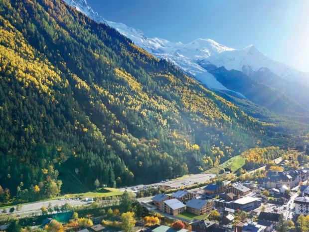 Réalisation du Cristal de Jade, résidence de tourisme à Chamonix