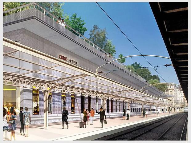 """Feu vert pour un """"hôtel sur rails"""" entre les ..."""