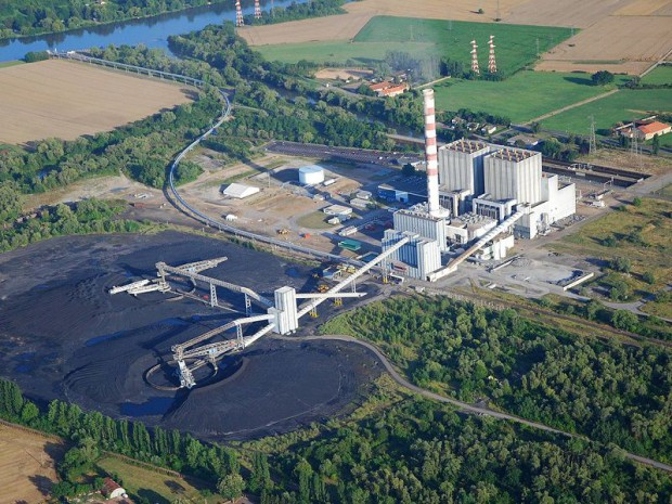 Centrale à charbon EDF