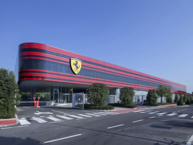 wilmotte associ s centre de gestion sportive ferrari maranello. Black Bedroom Furniture Sets. Home Design Ideas