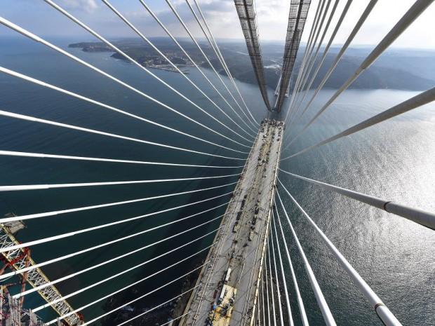 Le Bosphore dispose d'un troisième pont