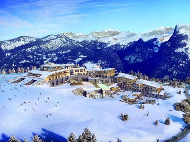 Projet du futur Club Med Samoëns Grand Massif (Haute-Savoie)