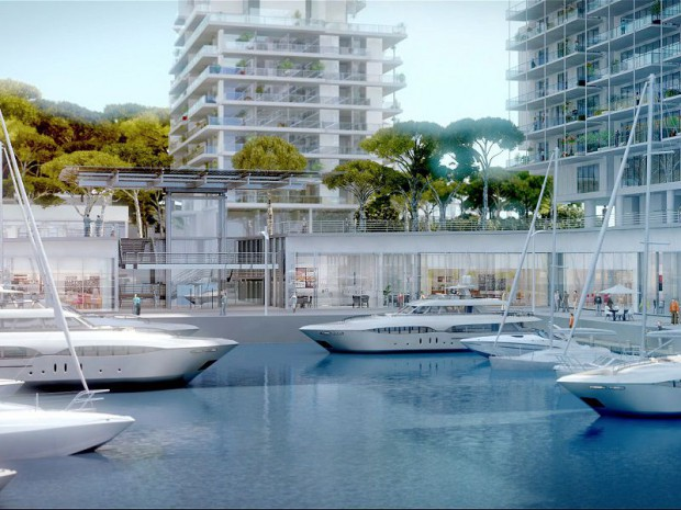 Extension en mer Monaco
