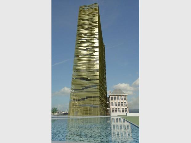 Projet de la Maison portuaire de l'agence 4 Arquitectos