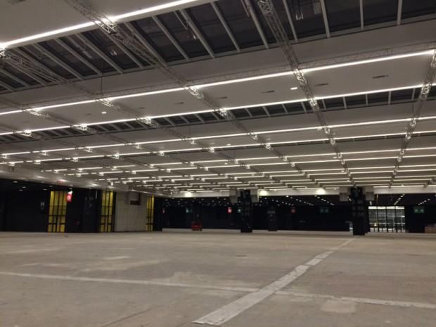 Rénovation en profondeur au Pavillon 7 du Parc des expositions de Paris
