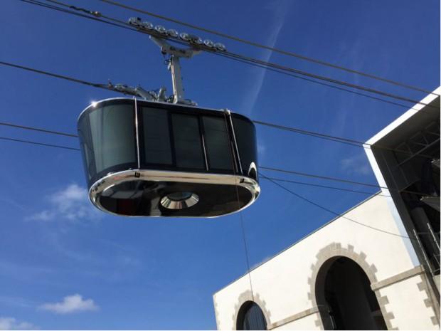 Brest met en service le premier téléphérique urbain de France